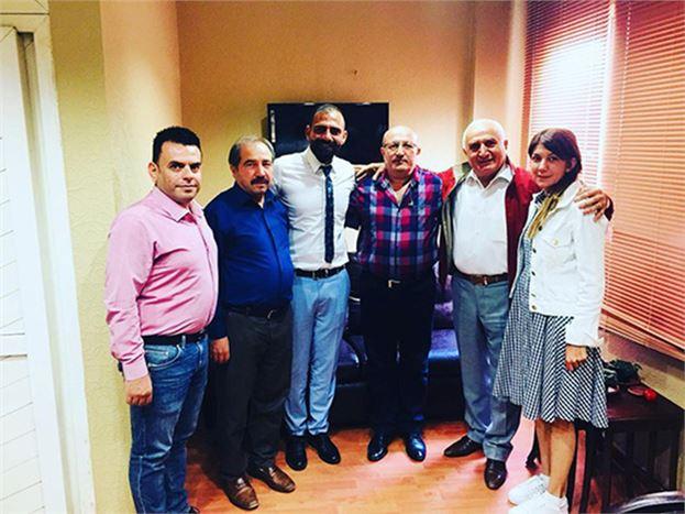 İYİ Parti Mersin Milletvekili A.Adayı Aydın Koç,  Sivaslılar Kültür ve Dayanışma Derneği'ni  Ziyaret Etti