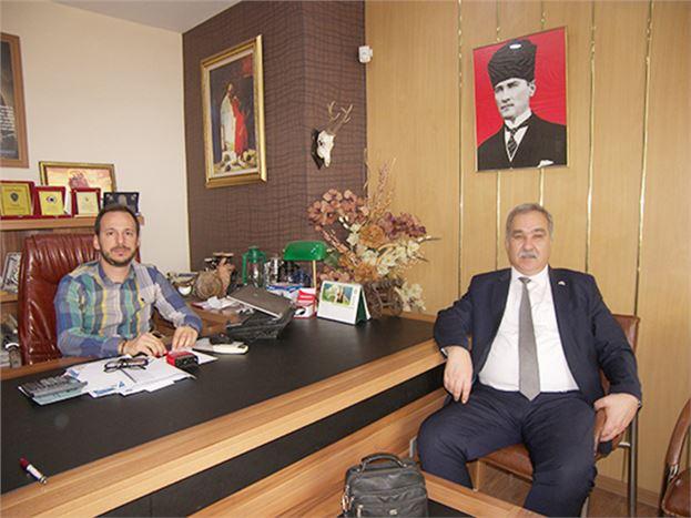 MHP Mersin Milletvekili A. Adayı Abdil Mustafa Çömez, Gazetemizi Ziyaret Etti