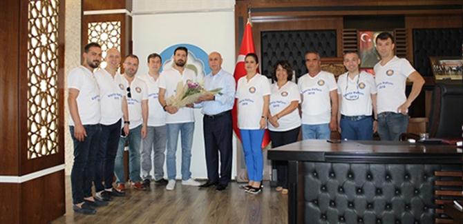 Tarsus TSO, Sigorta Acenteleri Meslek Komitesi Üyelerinden Borsa'ya Ziyaret