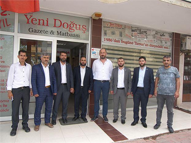 HÜDA PAR Mersin Milletvekili Adayları, Gazetemizi Ziyaret Etti