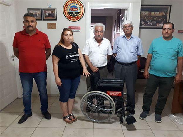 25 Yıllık TÜED, Bin'den Fazla Tekerlekli Sandalye Dağıtımı Yapıldı