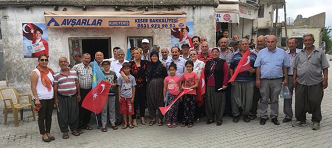 İYİ Parti Milletvekili Adayları, Tarsus'lu Seçmenleri ile Buluştu