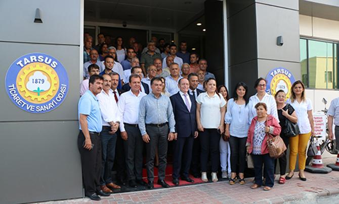 CHP Genel Sekreteri M.Akif Hamzaçebi, TSO ve TB'yi Ziyaret Etti