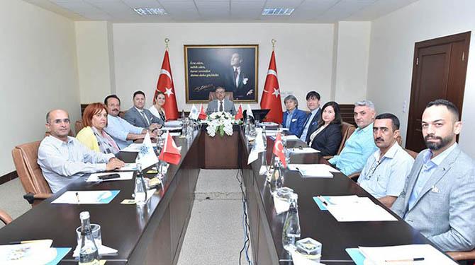 TÜİOSB Müteşebbis Heyet Toplantısı Vali Su Başkanlığında Gerçekleştirildi