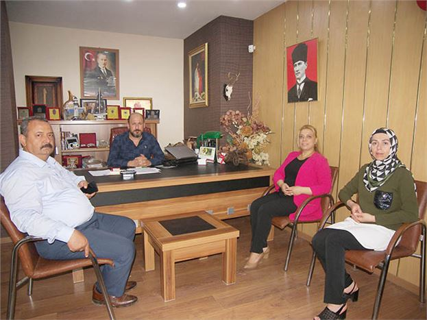 MHP Milletvekili Adayı Dilek Uslu Var, Gazetemizi Ziyaret Etti