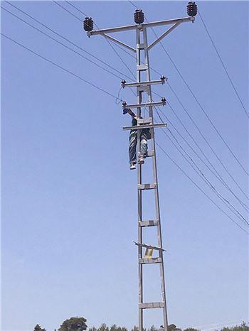 Elektrik Akımına Kapılan Kişi Feci Şekilde Can Verdi