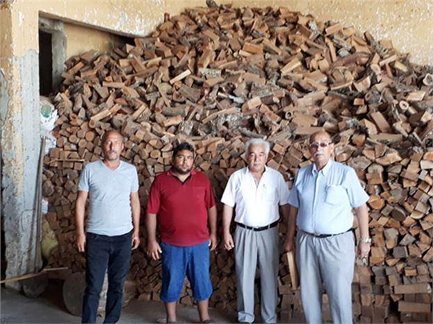 TÜED'den Odun ve Kömür Yardımı