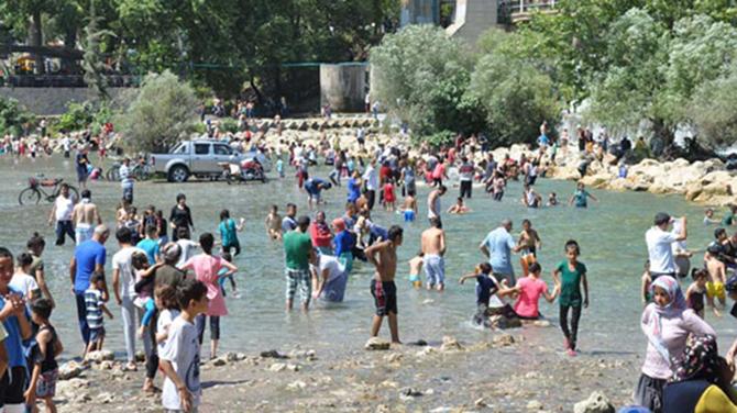 Baraj Mesire Alanı Halk Plajını Aratmıyor