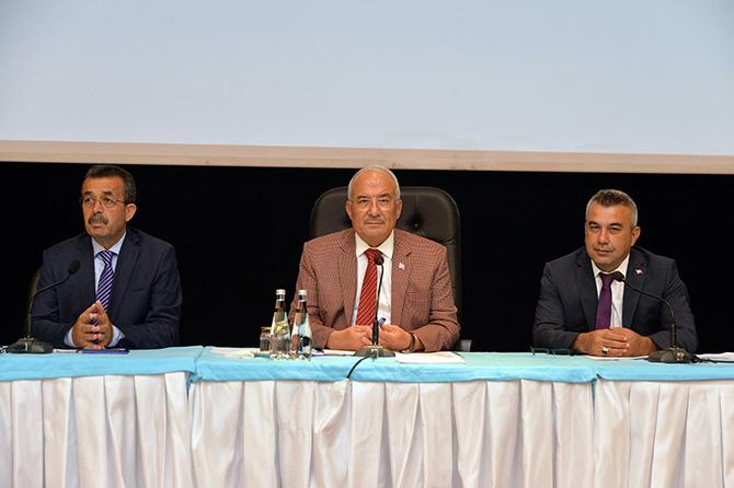 Büyükşehir Belediyesi Meclisi Toplandı