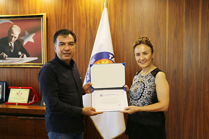 Tuğcu'dan Başkan Koçak'a Ziyaret