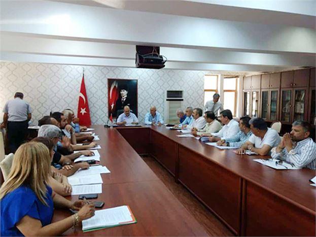 Tarım İşçilerinin Ücretlerine Yönelik Toplantı Yapıldı