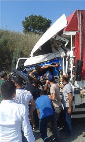Tarsus'ta Meydana Gelen Trafik Kazasında 1 Kişi Yaralandı