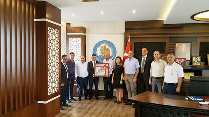 Tarsus TB'ye Vergi Dairesi Başkanı ve Vergi Dairesi Müdürlerinden Ziyaret