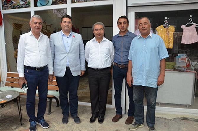 Ersoy, Tepebağlı'yı Ziyaret Etti