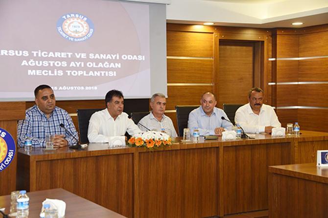 TSO Meclis Toplantısı Yapıldı