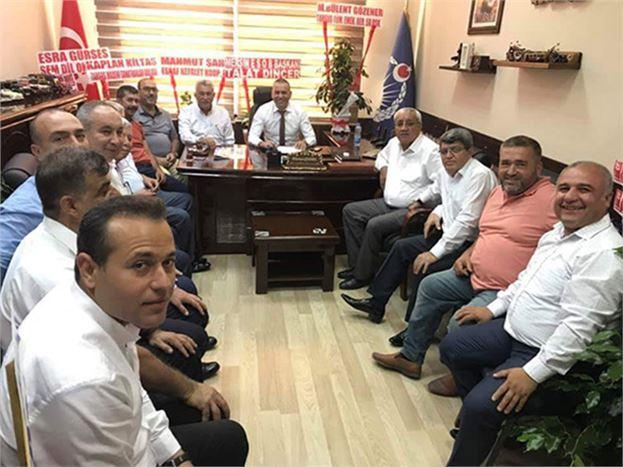 Oda Başkanları, Zabıta Müdürü Gözener'i Ziyaret Etti