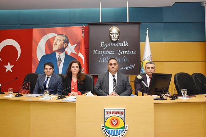 Tarsus Belediye Meclisi Eylül Ayı Toplantısını Gerçekleştirdi