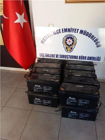 Trafolardan Akü Çalan Hırsızlar Tutuklandı