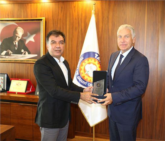 MDTO Başkanı Lokmanoğlu, TSO Yönetimini Ziyaret Etti