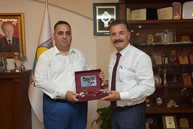 Mersin Büyükşehir Belediye Başkan Adayı Hamit Tuna, Tarsus'u Ziyaret Etti