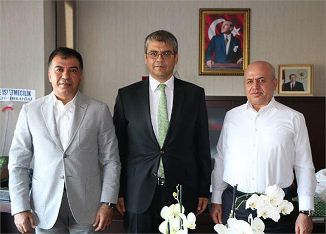 Başkan Koçak, Rektör Aydın'ı Ziyaret Etti