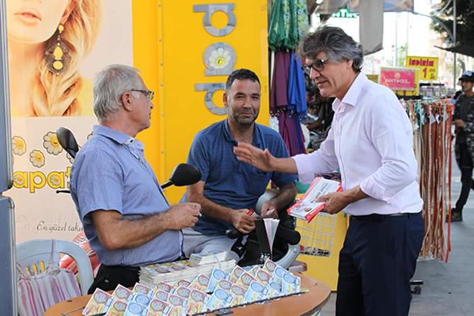 CHP Tarsus Belediye Başkan A. Adayı  Günyar, Seçim Çalışmalarına Devam Ediyor