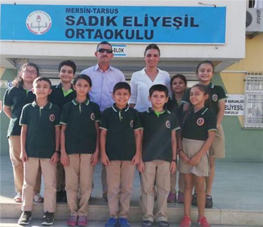 Sadık Eliyeşil Ortaokulu Tarsus'un ve Mersin'in Gururu Olmayı Sürdürüyor