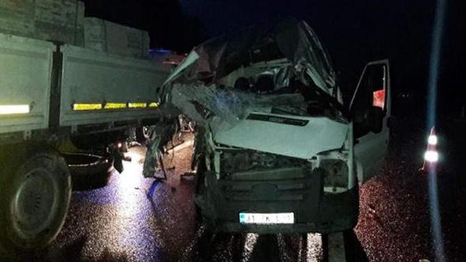 İki Kişi Trafik Kazasında Hayatını Kaybetti
