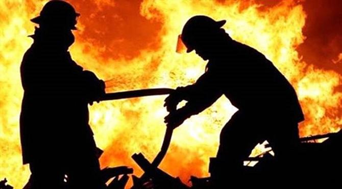 Ev Yangınında Bir Kişi Yaralandı