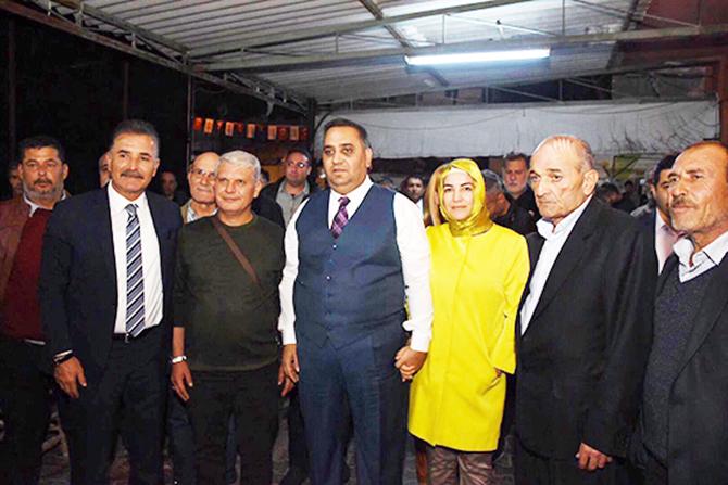Can, Hizmetlerini Alifakı Mahallesinde Vatandaşlarla Paylaştı