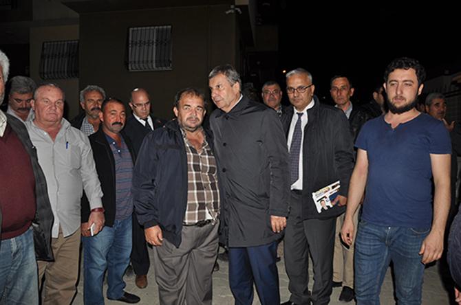 CHP'li Talay, Şehit Ailesine Taziye Ziyaretinde Bulundu