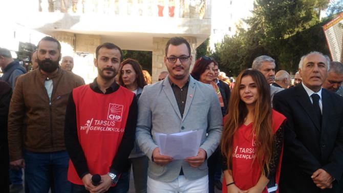 CHP'li Gençler, Gündeme İlişkin Basın Açıklamasında Buluştu