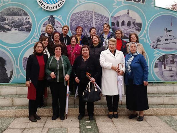 Adana Kız Öğretmen Okulu Mezunları,  Tarsus'a Hayran Kaldılar