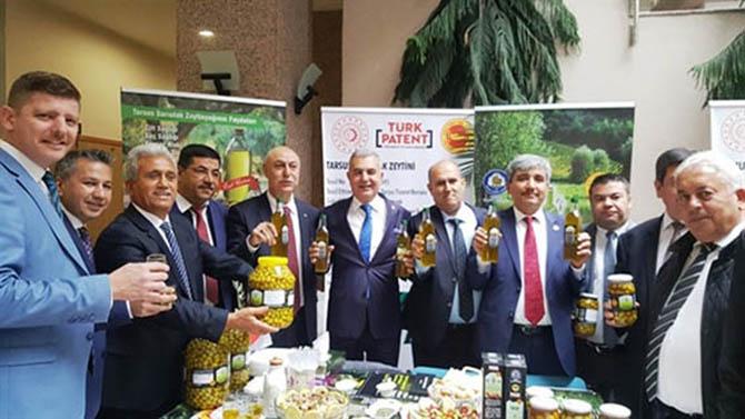 Tarsus Sarıulak Zeytini Coğrafi İşaret Tescil Takdim Töreni Yapıldı