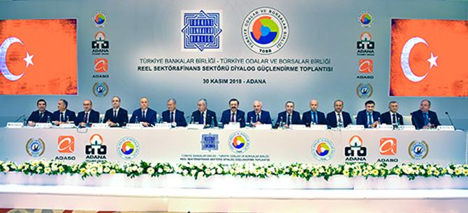 Reel Sektör ve Finans Sektörü Diyalog Güçlendirme Toplantısı Yapıldı