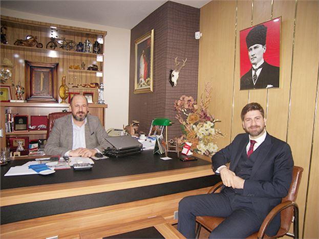 CHP Tarsus Belediye Başkan A. Adayı Ali Boltaç, Gazetemizi Ziyaret Etti