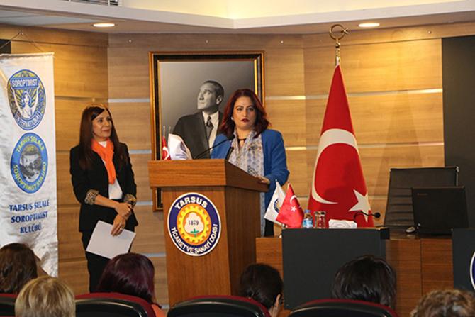 Tarsus Şelale Soroptimist Kulübünden Kutlama