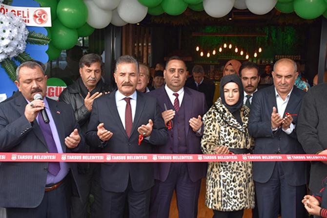 Neşve Kafe ve Restaurant Törenle Hizmete Açıldı