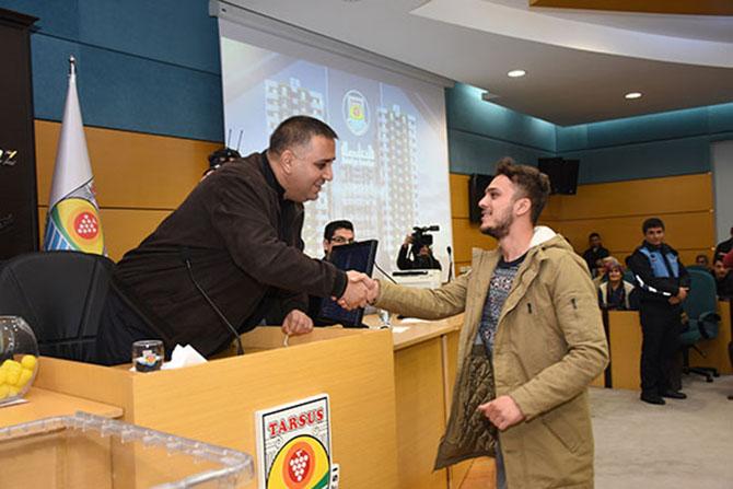 Tarsus Belediyesi Toplu Konut Kuraları Çekildi