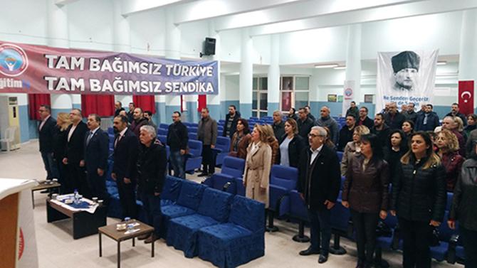 Eğitim-İş Sendikası Tarsus Şubesi'nin 1. olağan genel kurul toplantısı yapıldı