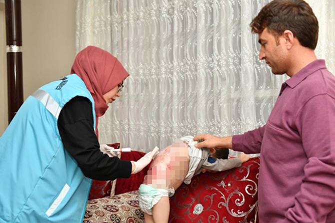 Mersin Büyükşehir Belediyesi,  Kelebek Çocukların İmdadına Koştu