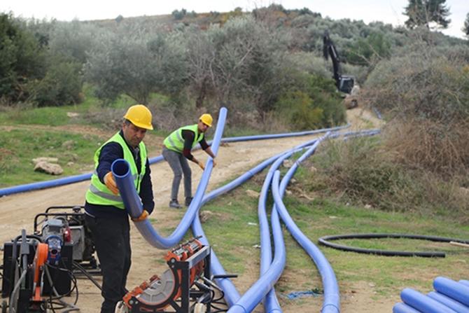 MESKİ, Tarsus'ta 4 Mahallenin İçmesuyu Sorununu Çözüyor