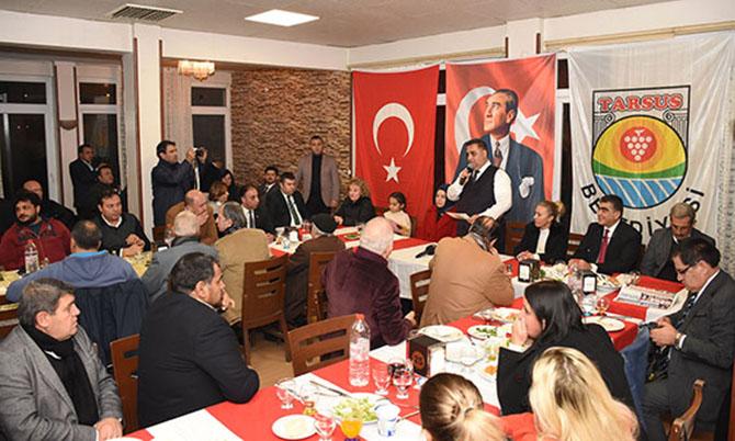 Başkan Can, Gazeteciler ile Bir araya Geldi