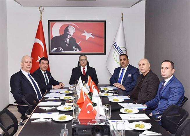 TGİOSB, Yılın İlk Yönetim Kurulu Toplantısı Yapıldı