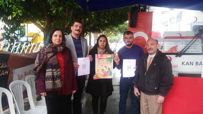 Tarsus Halkevinden Lösemili Çocuklar İçin Yapılan Kampanya İlgi Gördü
