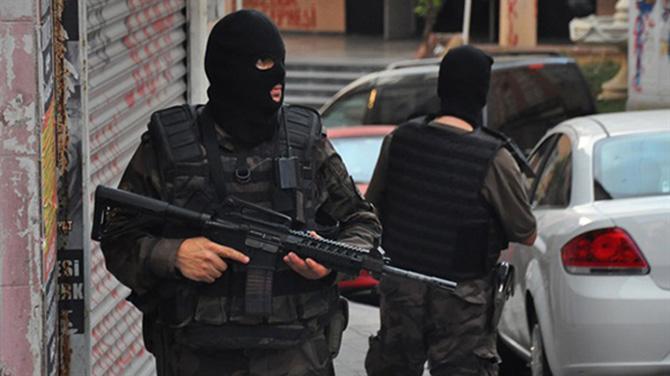 Şafak Operasyonunda 10 Kişi  Gözaltına Alındı