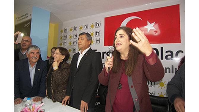 İYİ Parti Tarsus Belediye  Başkan Adayı Esin Erkoç Oldu