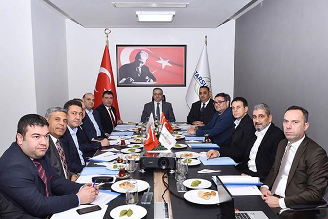 TGİOSB, Ocak Ayı Yönetim Kurulu ve Müteşebbis Heyet Toplantısı Yapıldı