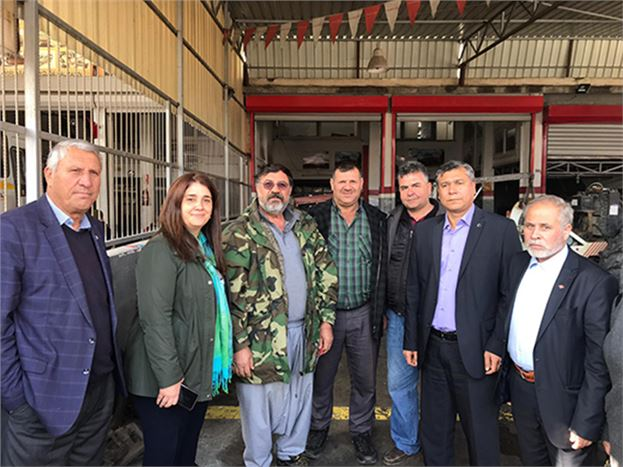 İYİ Parti Tarsus Belediye Başkan Adayı Esin Erkoç, Seçim Çalışmalarına Hız Verdi