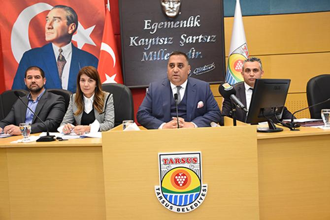 Tarsus Belediyesi 2019 Yılı Şubat Ayı Toplantısı Yapıldı